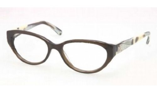 TORY BURCH Eyeglasses TY 2021 1078 Olive Horn - Tory Burch Eye Frames Cat