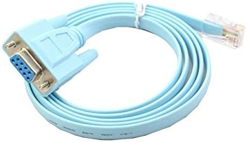 Distinct Connecteur Db9 1 5 M 9 Broches Cisco Cable D Adaptateur Rj45 Cat5 Ethernet Pour Routeurs Reseau Amazon Fr Informatique