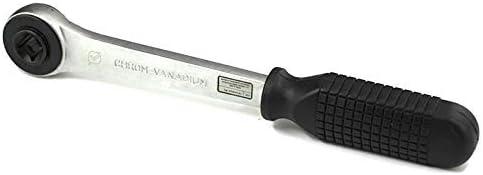 Nuokix Desmontaje de la v/álvula de la bomba Llave de trinquete de acero al carbono Pagoda Cabeza 10-21mm v/álvula de radiador Llave de trinquete de precisi/ón Herramientas Llaves de ajuste de mano