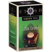 Stash Chai Green Green Tea Bags, 20 count(Case of - Chai Green Stash Tea