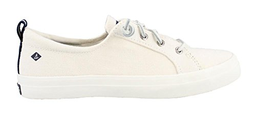 Sperry Damen Crest Vibe Wash Sneaker, Weiß (White), 36 EU