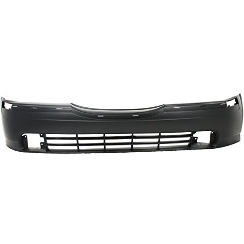 OE Replacement Lincoln LS Front Bumper Cover (Partslink Number FO1000445) (Bumper Front 2000 Cover)