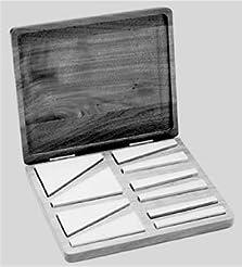 Angle Block Set,10 Blocks W/Case