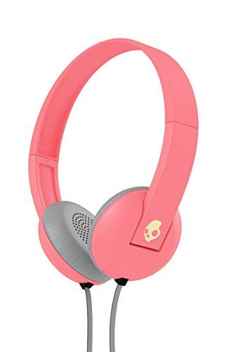 Skullcandy Uproar On-ear Headphones with Built-In Mic and Remote, Ill Famed Coral