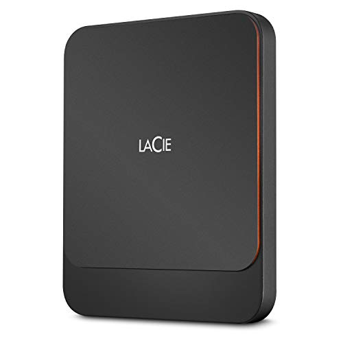 LaCie Portable SSD High Performance External SSD USB-C USB 3.0 Thunderbolt 3 2TB STHK2000800