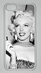 Famous Actress Marilyn Monroe Painting Customized Hard Shell Transparent iphone 4/4s iphone 4/4s Case By enjoyshopping2014 Your Perfect Choice