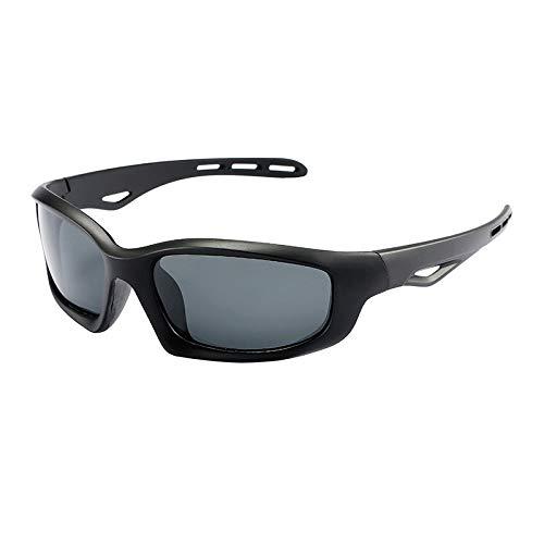 Deportiva Conducción Burenqiq Sol para Gafas de de Aire Sol de al Gafas Negras Gafas Hombre Sol black Montar de Polarizadas Libre vrwvOzq