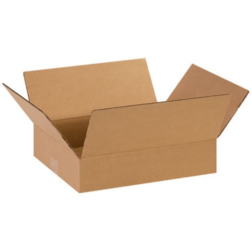 Aviditi 14113 Flat Corrugated Box, 14' Length x 11' Width x 3' Height, Kraft (Bundle of 25)
