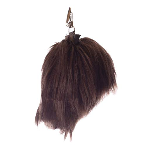 Wildlife Tree Plush Moose Tail Clip-On Accessory for Moose Costume, Cosplay, Pretend Animal Play or Forest Animal Costumes ()