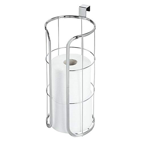 mDesign Modern Over The Tank Hanging Toilet Tissue