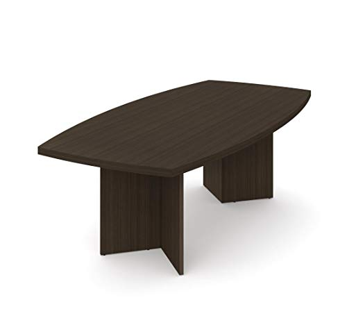 Boat Shaped Conference Table with 1 3/4