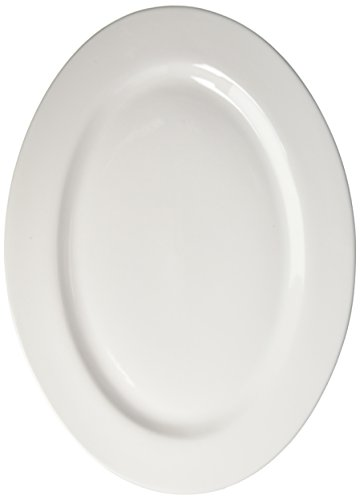BIA Cordon Bleu Porcelain 18-Inch Oval Serving / Fish Platter, White