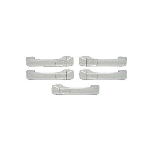 hummer h3 door handle chrome - 4