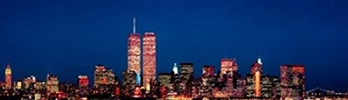 New York City Skyline with World Trade Center Poster Print by Panoramic Images
