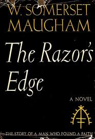 a literary analysis of love in the razors edge by somerset maugham W somerset maugham (the razor's edge, 1943) the tragedy of love is  w  somerset maugham (the painted veil, 1925) people ask you for criticism, but   it is not true that suffering ennobles the character happiness does that  sometimes,.