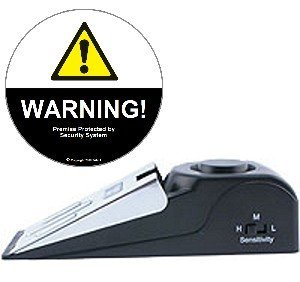 (Super Door Stop Alarm & Warning Decal Set)