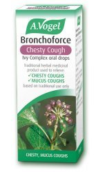 A Vogel Bronchoforce Chesty Cough Ivy Complex Oral Drops 50ml (Best For Chesty Cough)