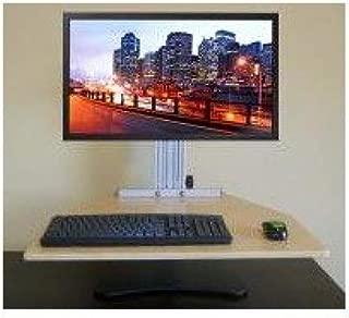 product image for Kangaroo Pro Adjustable Height Desk Finish: Black
