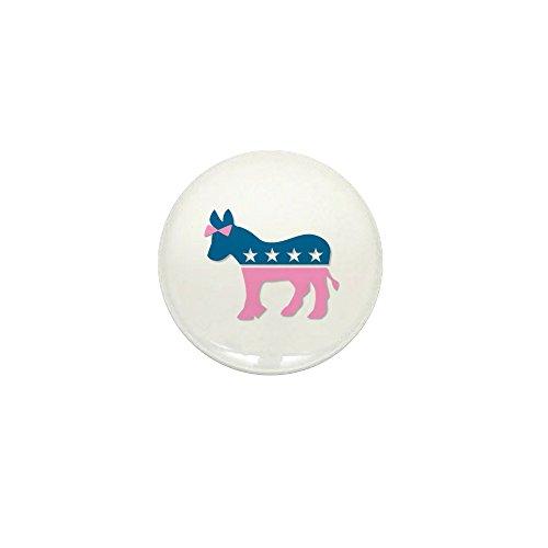 CafePress ::: Democratic Donkey Pink/Blue ::: 1