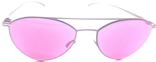 Mykita + Maison Martin Margiela MMESSE005 pink mirrored - Mykita