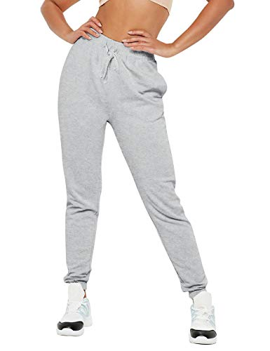 Ma Croix Womens Jogger Pants Lightweight French Terry Cotton Blend Casual Sweatpants with Pockets