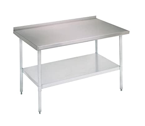 John Boos E Series Stainless Steel 430 Budget Work Table
