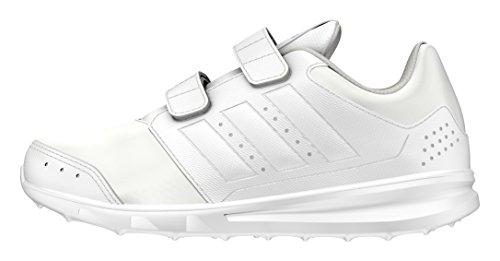 adidas Lk Sport 2 Cf K, Zapatillas de Deporte para Niños Blanco (Ftwbla / Ftwbla / Grpulg)