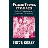 Private Truths, Public Lies, Timur Kuran, 0674707575
