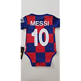 LE MANEGE ENCHANTE Body Foot Barcelone Barca Messi Neuf 2020 9/18 Mois