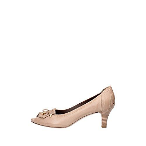 CALPIERRE Zapatos de Salón Mujer 38,5 EU Beige Cuero AG730