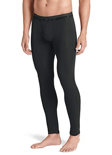 Jockey Men's Long Underwear Thermocore Pant, Black, S