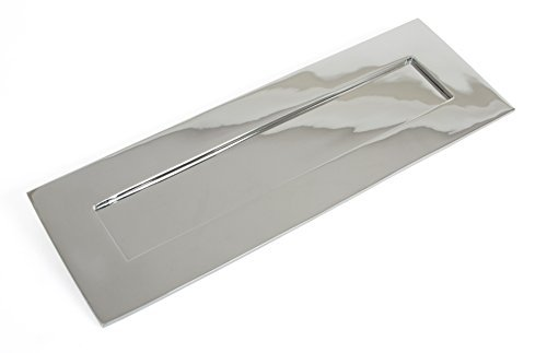 From the Anvil 33052 Large Cast Letter Plate - Polished Chrome by From the Anvil