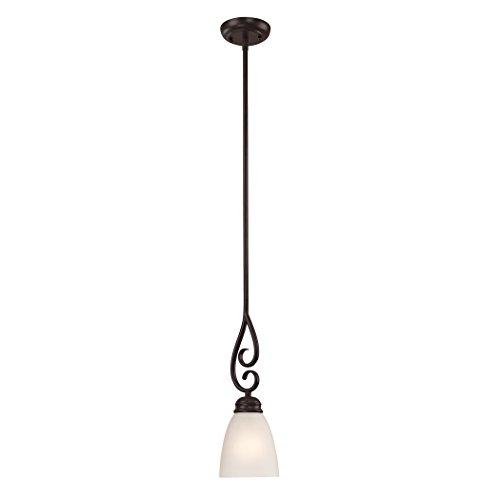 Cornerstone Lighting 1151PS/10 Chatham 1 Light Pendant, Mini, Oil Rubbed ()