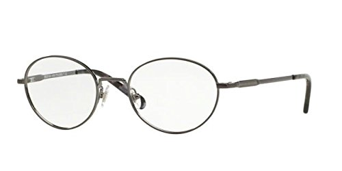 Brooks Brothers Eyeglass Frames - Brooks Brothers BB1032 Eyeglass Frames 1630-48 - Brushed Gunmetal