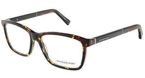 ermenegildo-zegna-ez5012-v-054-havana-rectangular-frames