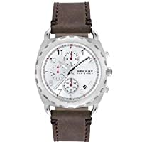 Sperry Top-Sider Men's Chronograph Mariner Brown Leather Strap 40mm 102032 by Sperry