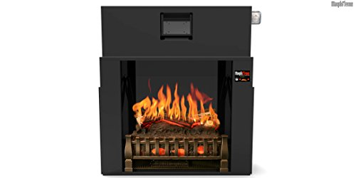 MOST REALISTIC Electric Fireplace INSERT on Amazon! 21 Flames Sampled From REAL Fires w/Sound! 3D Holographic Flames for Lifelike Appearance w/Bluetooth App, Touchscreen & Heater! Review