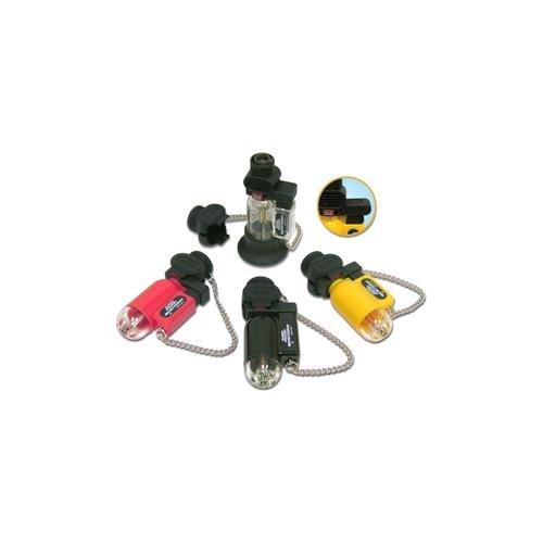Blazer PB207CR The Torch Butane Refillable Lighter, Black -