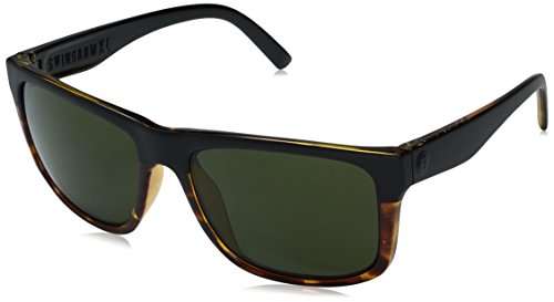Electric Swingarm Xl Darkside Tort Wayfarer Sunglasses, Ohm Grey, 59 mm by Electric Visual