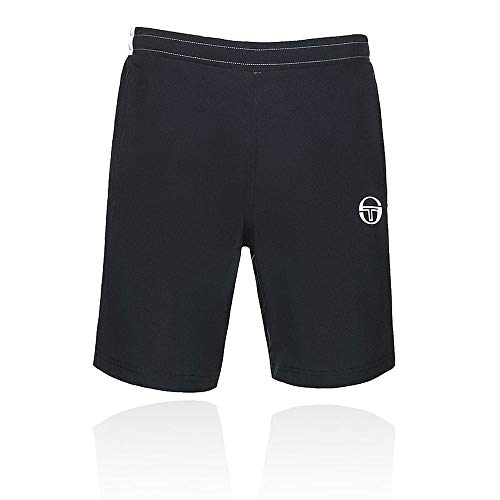 (Sergio Tacchini Club Tech Shorts - SS19 - Large - Navy Blue)