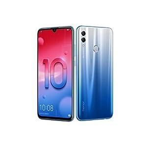 "Huawei Honor 10 lite (32GB + 3GB RAM) 6.21"" FHD 4G LTE GSM Factory Unlocked Smartphone - International Version No Warranty HRY-LX2 (Blue)"