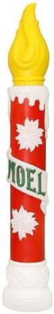 General Foam Plastics 40 Light-Up Noel Candle Christmas Decoration