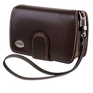 Olympus Slim Leather Case - Olympus Slim Leather Case for