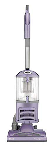 SharkNinja NV352 Navigator Lift Away HEPA Canister Vacuum Cleaner Purple (Renewed)