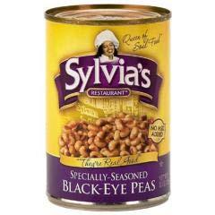 Sylvia's Soul Food - Black Eyed Peas (3-15 OZ) Black Eyed Peas