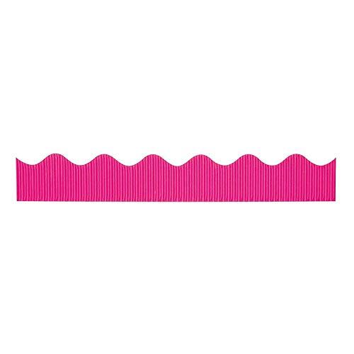 Pink Bordette Decorative Bulletin Board Border Roll, 2.25