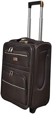New Travel Luggage Trolly 9951-20 Coffee Single Pc
