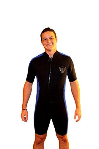 Jual TommyD Sports Men s Shorty Wetsuit - Zip Off Front Zip - 2100 ... e0d6d5600