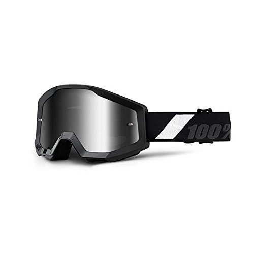 100 Percent 50410-166-02 Strata Goggle Goliath Mirror Lens, Black,Mirror (Thor Mx Goggles)