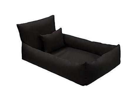 Artus Soja Hugo – Sofá cama para perros de piel ecológica con almohada ortopédica, tamaños: de M a XL.: Amazon.es: Productos para mascotas